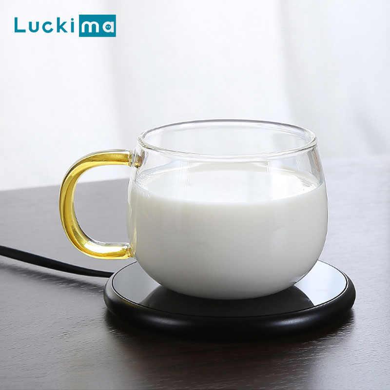 كوب لشرب القهوة دفئا ل مكتب مكتب منزلي استخدام الكاكاو الشاي الحليب المياه الكهربائية المشروبات دفئا مع الموقت 2 إعدادات درجات الحرارة