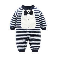 Для маленьких девочек боди комбинезон одежда для мальчиков осень