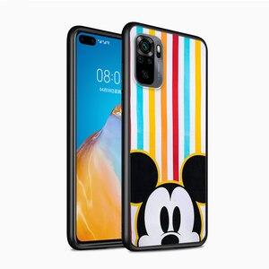 Image 3 - Mickey and Minnie cute for Xiaomi Redmi Note 10 10S 9 9T 9S 9Pro Max 8T 8Pro 8 7 6 5 Pro 5A 4X 4 Soft Black Phone Case