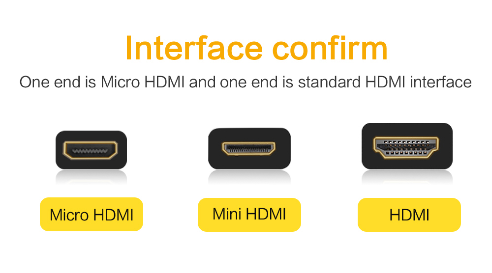 Hffd0011116c94254a34d4161912e3e9bp 1.4 Version Gold Plated Micro HDMI to HDMI Cable 3D 1080P Male-Male for Phone Tablet  HDTV PS3 XBOX Camera GoPro 1m 1.5m 3m 5m