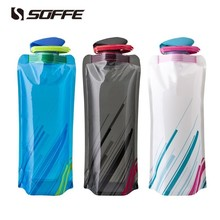 Water-Bottle-Bag Drink Foldable Travel Soffe Collapsible Sport 700ml Bpa-Free Outdoor