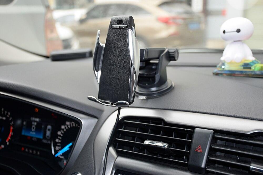 S5 carro sem fio carregador móvel titular