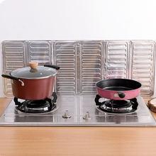Frigideira óleo respingo proteção tela de alumínio dobrável cozinha fogão a gás defletor placa cozinha isolamento acessórios da cozinha