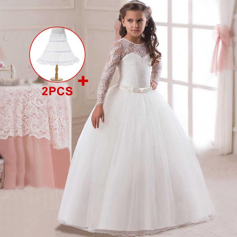 Розничная продажа; Детские вечерние платья; кружевное бальное платье; Платья с цветочным узором для девочек на свадьбу; платья для первого причастия для девочек
