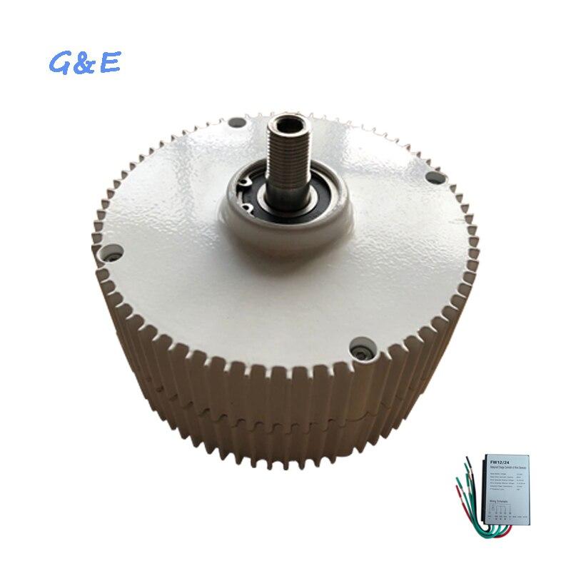 DC Controller PM 400W Generator Three Phase Permanent Magnet Alternator For Wind Turbine