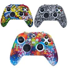 Controller Cover For Xbox One Series S/X Gamepad Case Silicone Anti-drop Shock-resistant Sweatproof Multi-color Game Accessories
