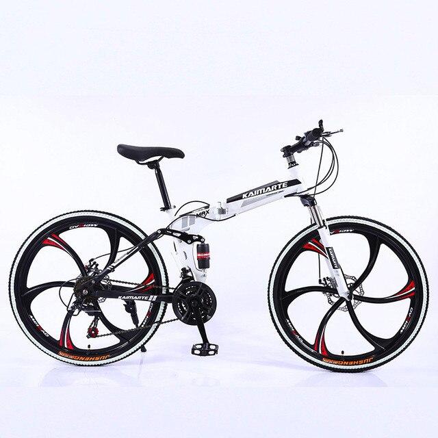 Heavy Duty Folding Mountain Bike 3