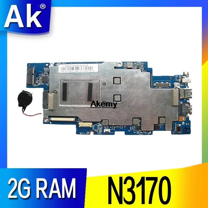 ノートパソコンのマザーボードレノボ 100s-14ibr N3170 2 グラムメモリ 100% テスト OK 品質保証