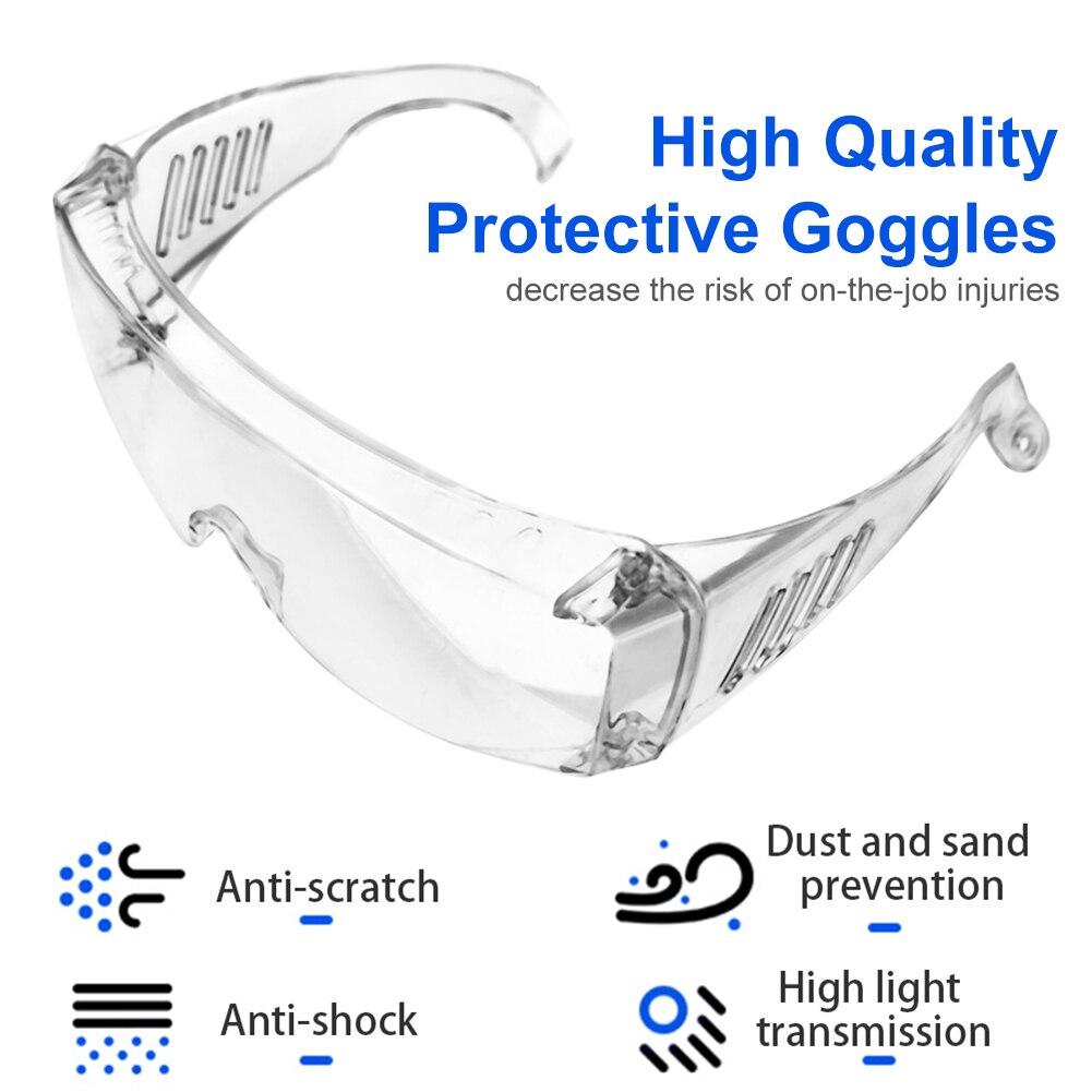 Goggles Anti Dust Safety Glass Protection Eyeglasses Protective Antiviral Eyewear Anti Spit Splash
