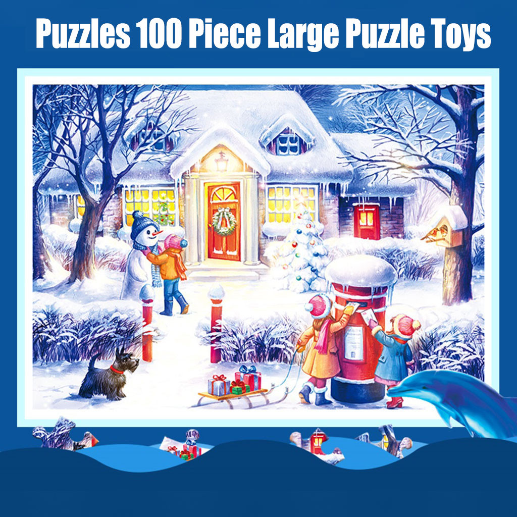 Jigsaw Puzzle Baby Toys Puzzles 100 Piece Large Puzzle Game Interesting Toys Personalized Gift Educational Toys Brinquedos