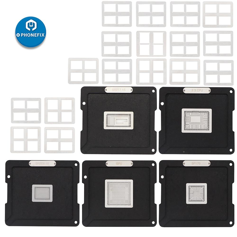 Kit Air BGA Reballing DS Tool Chips  For 2018 BGA For Macbook Macbook 908 BGA Pro Set Platform Reballing Soldering 2010 Stencil
