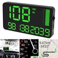 Motorcycle Car Boat GPS Speedometer HUD Digital Display KM/H Mileage Parts Kit