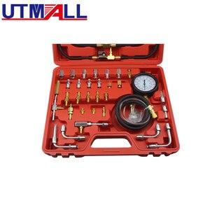 Image 2 - TU 443 Deluxe Manometro Del Carburante Tester di Pressione di Iniezione Gauge Kit sistema di 0 140 psi