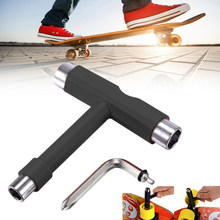 Multi-funcional De Skate T forma llave Skateboard accesorio para Scooter Mini T llave ajuste herramienta De patines Herramientas De Mano