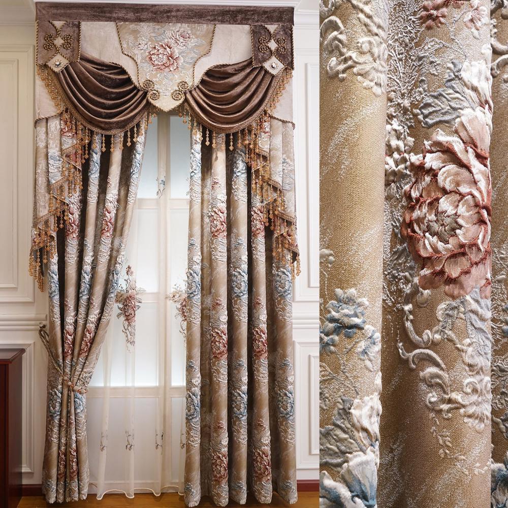 Photo De Rideau Pour Fenetre rideaux décoratifs de broderie de style contracté pour la