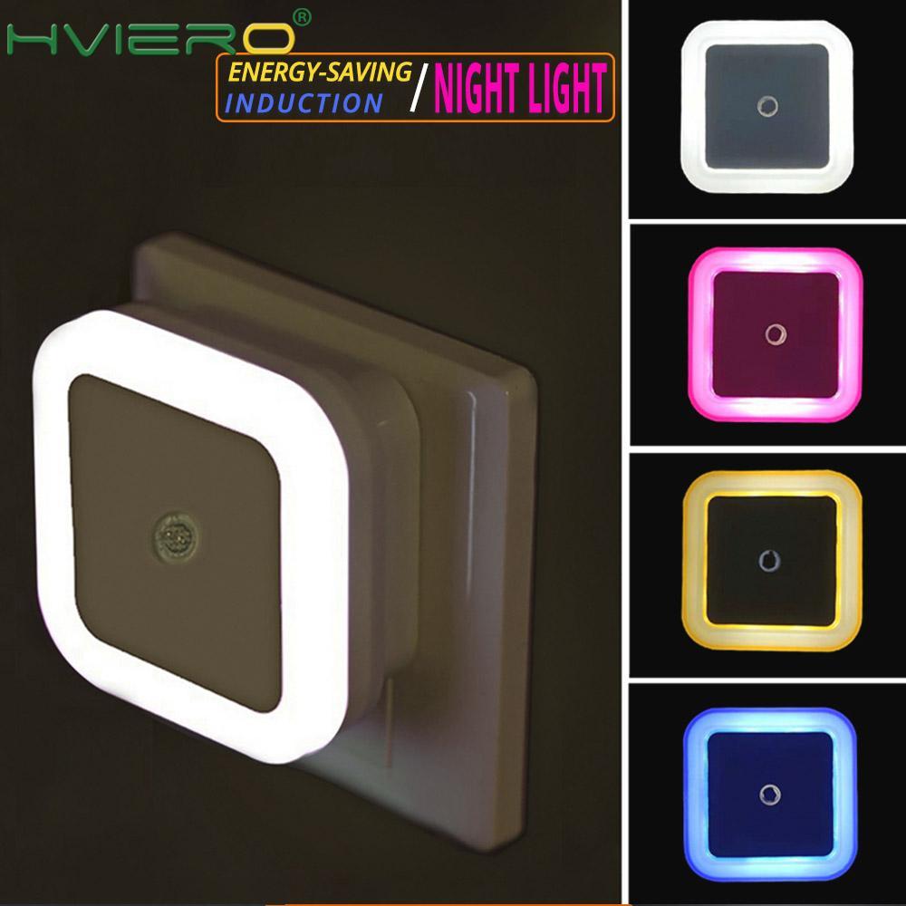 1 шт. миниатюрный светодиодный ночник с сенсорным управлением, индукционный энергосберегающий ночной Светильник льник 110-220 В для детской ко...