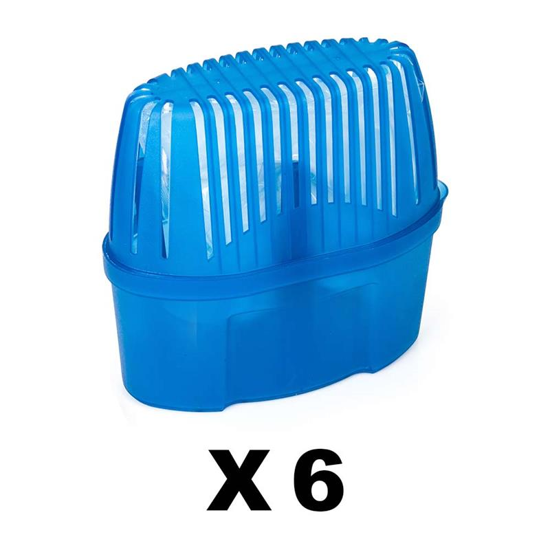 PACK 6 Units 5463-Absorbing Humidity 1000 Ml. Capacity Open