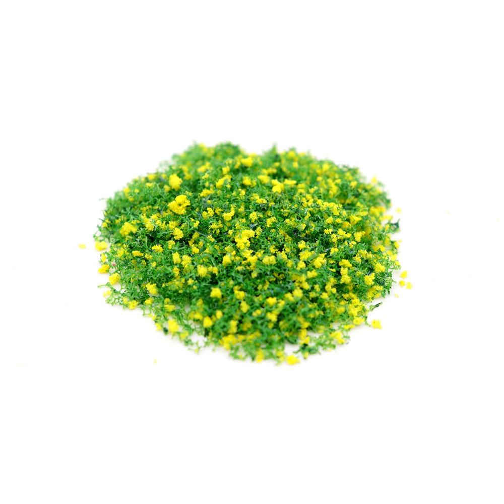 250g DIY Model Sponge Tree Powder Model Landscape Yellow And Green