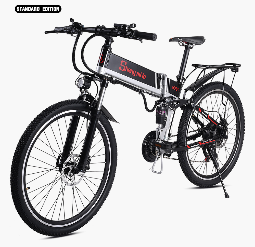 "New Electric Bike 21 Speed 10AH 48V 500W 110KM Built-in Lithium battery E bike electric 26"" Off road Electric bicycle Folding"