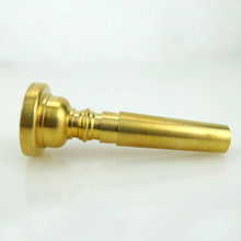 Universal Gold Musical Trumpet Mouthpiece Accessories Tone Brass Instrument Professional Mini Portable Durable Small Bugle Mouth