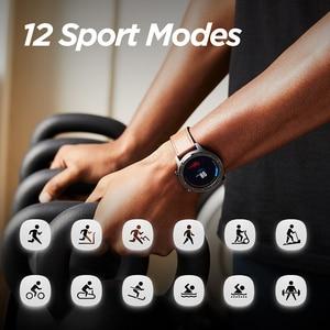 Image 4 - Huami Amazfit GTR 47mm GPS Smart Uhr Männer 5ATM Wasserdichte Smartwatch 24 Tage Batterie AMOLED Bildschirm 12 Sport Modi
