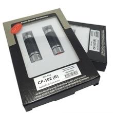FURUTECH CF 102(R) Carbon Fiber High End grade RCA plug  demagnetization Handle Original box