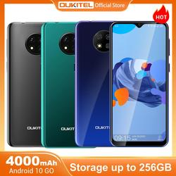 OUKITEL C19 6.49'' HD+ 2GB 16GB Smartphone MTK6737 Ouad Core Android 10.0 Mobile Phone 4000mAh TYPE-C