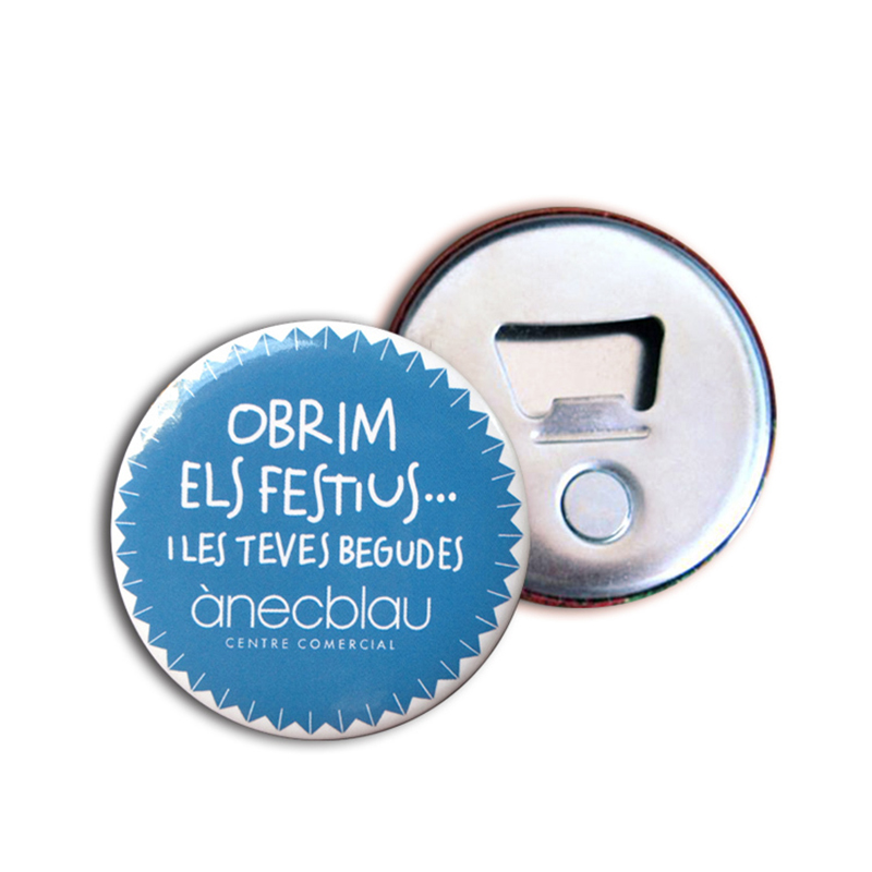 Image 2 - 50x Personalized Fridge Magnet Magnetic Bottle Opener Corporate  Gift Custom Logo Bottle Opener Button Magnet 58mm 2.25 Diameterbottle  openerbottle opener personalizedmagnetic bottle opener