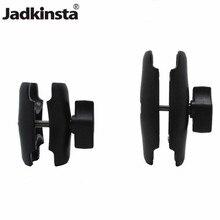 Jadkinsta алюминиевый или пластиковый двойной разъем руку б/у с 1 дюймов мяч баз и держатель для экшн-камеры Gopro Камера смартфон