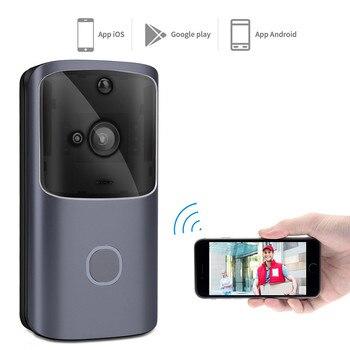 цена на M9 Smart Wifi Voice Intercom Wireless Doorbell Wireless Wifi Remote Smart Doorbell Ring Camera Door Bell