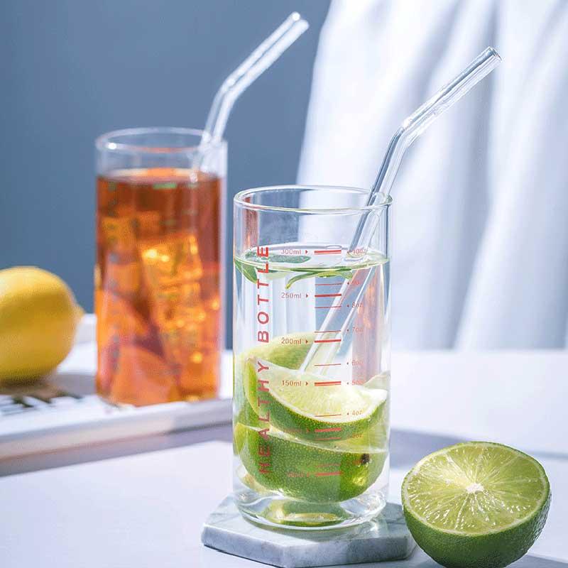 300 мл стеклянная мерная чашка термостойкая молочная кофейная кружка чашка для завтрака с измерительным диапазоном стакан для питья кухонные аксессуары