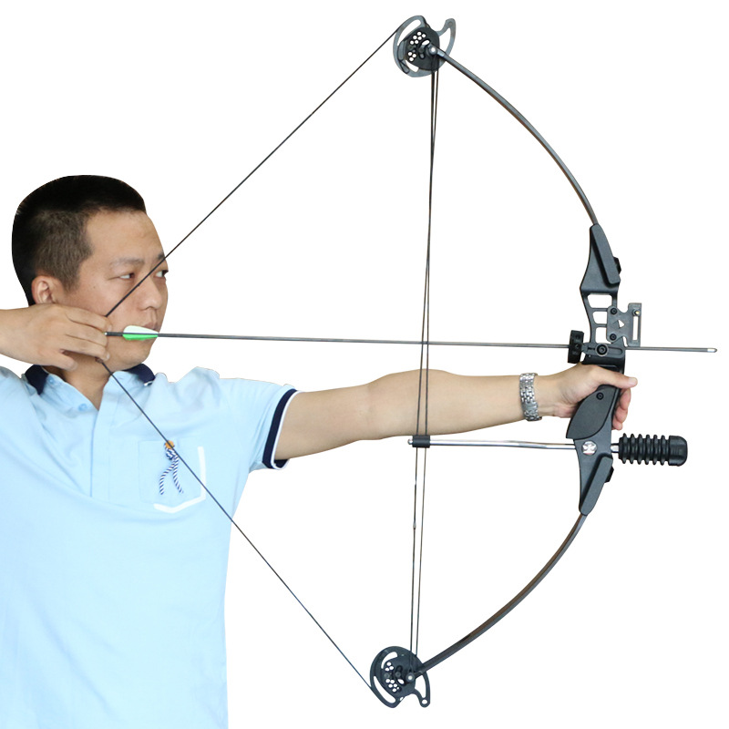 Junxing M183 30-40lbs Archery Compound Bow Kit Right Handed Takedown Bow For Hunting Shooting Fishing Accessories Stabilizers