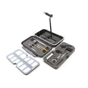 Image 3 - Mosca compacta que amarra o sistema de torno voar que amarra a ferramenta conjunto pesca equipamento kit para o viajante