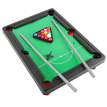 Children's Billiard Table Set Mini Pool Table Billiards Table With Balls And Cue Kids Entertainment Play Sport Toy Xmas Gifts