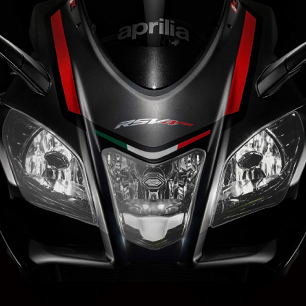 Motorcycle ABS accessories front headlight shield lens for APRILIA RSV4 RR / RF 2015-2018