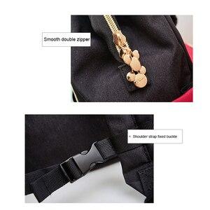 Image 5 - Sac à couches Disney pour maman, sac à dos humide pour maman, sac de voyage USB, mode organisateur de couches de maternité pour poussette