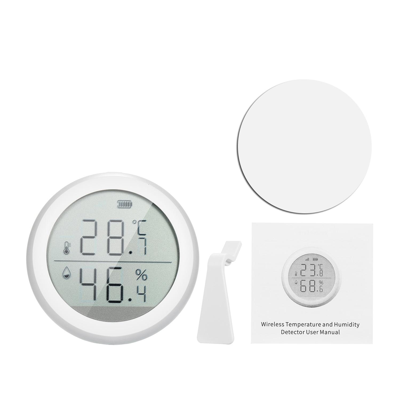compatível higrômetro digital sem fio medidor de umidade termômetro interno