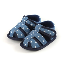 Sandals Toddler Shoes First-Walkers Baby-Boys-Girls Anti-Slip Soft Summer Soled Mixed-Color