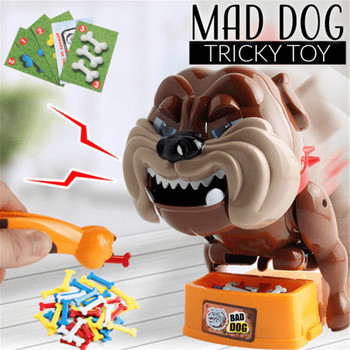 Beware of Vicious Dog Toy Vicious Dog Stealing Bones Biting Toys Biting Hands Funny Electronic Pet Dog Parent Child Games Dog vicious moon
