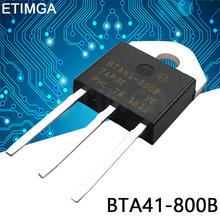5 sztuk partia BTA41-800B TO3P BTA41-800 TO-3P 41-800B nowy tanie tanio CN (pochodzenie) Tranzystor polowy Przez otwór
