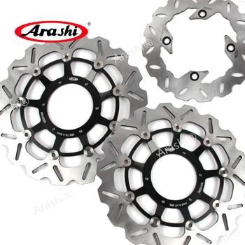 ARASHI Brake Disc For HONDA CBR1000RR 2004 2005 CBR 1000 RR Front Rear Brake disk Rotors CNC aluminum 1000RR