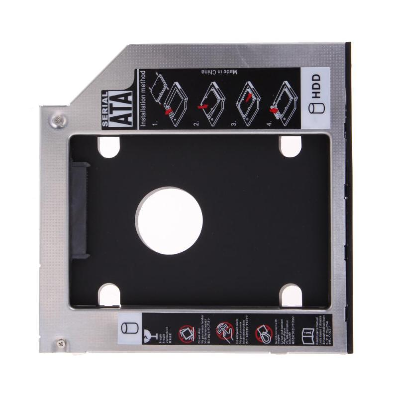 2.5'' 9.5mm Universal SATA 2nd HDD SSD Hard Drive Caddy For CD/DVD-ROM Optical Bay Hard Disk Drive Case With Screwdriver