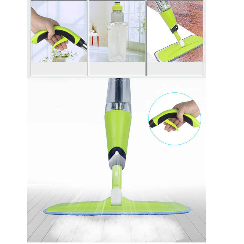 New 500ml Spray Mop Floor Steamer Tile Hard Wood Cleaner Home Kitchen Bathroom Cleaning Tools J99store Mops Aliexpress