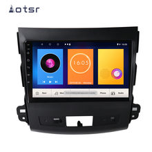 Android 9.0 4+64GB Car DVD Player GPS Navigation For Mitsubishi Outlander 2006-2011For Peugeot 4007 Multimedia Headunit Stereo(China)