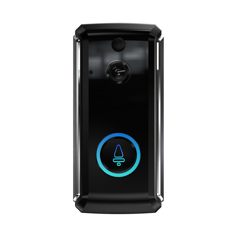 ABKT-Smart Doorbell - Visual Doorbell Smart Wifi Intercom Doorbell Low Power Monitoring Doorbell Smart Voice Intercom Wireless D