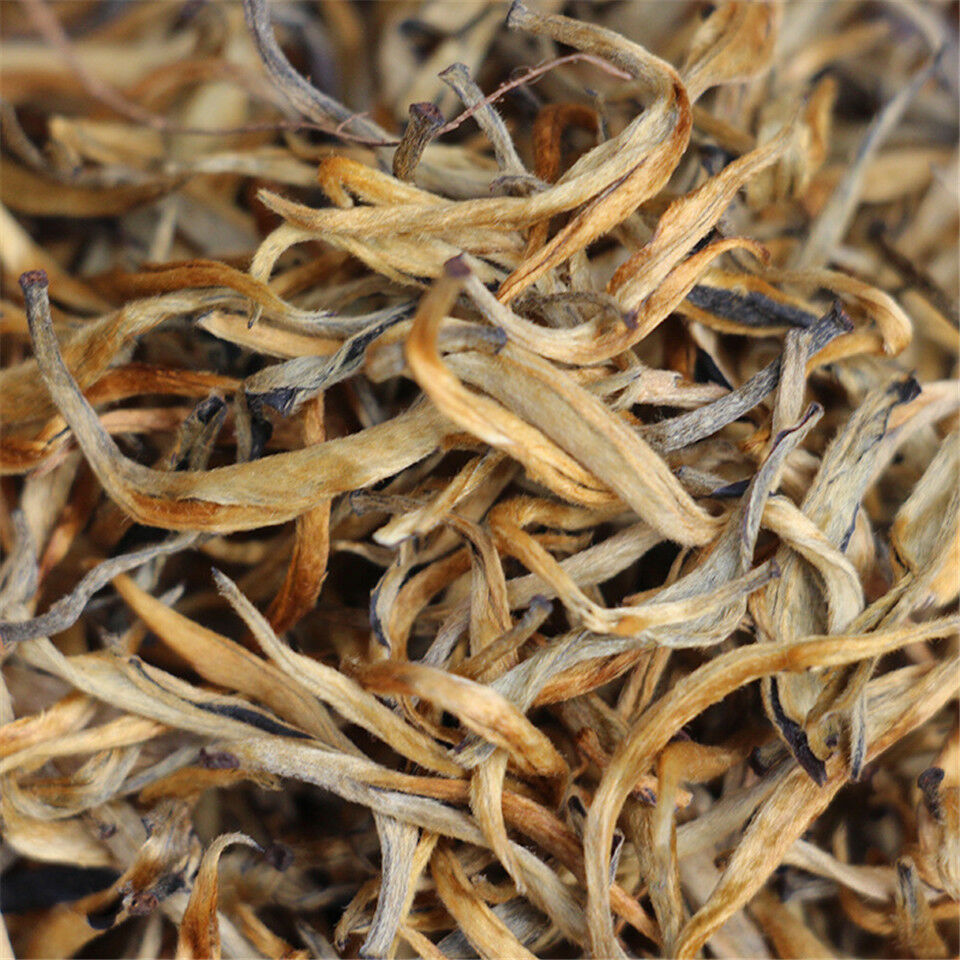 Nonpareil Fengqing Dian Hong Golden Buds * Yunnan Black Dianhong Spring Tea