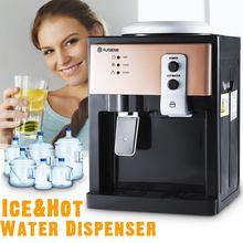 Electric Water Dispenser Desktop Drinking Fountain Cold & Hot Water Cooler Heater Home Office Hostel Coffee Tea Bar Helper 220V
