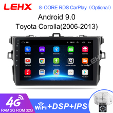 Car-Radio Reproductor Multimedia LEHX 2din Android Toyota Corolla 2-Din 0 Para
