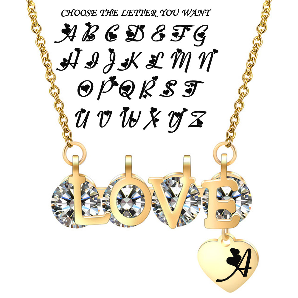 love gold letter-2