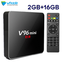V96S MINI Allwinner Quad-Core Android 7.1 TV Box support H.265 Media player 4K G